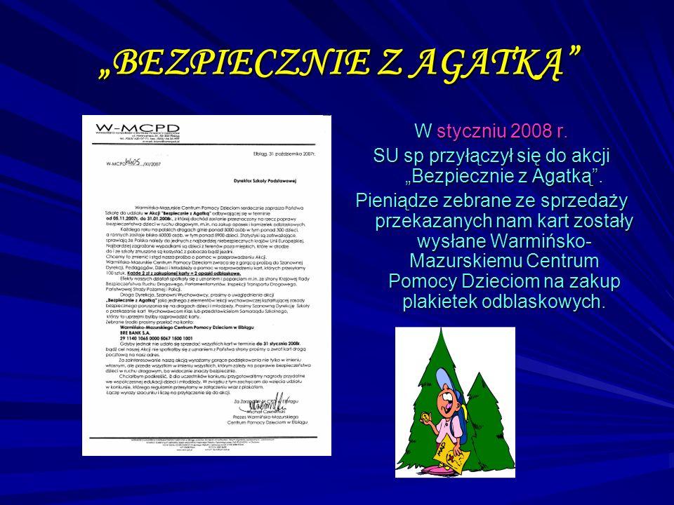"""""""BEZPIECZNIE Z AGATKĄ"""