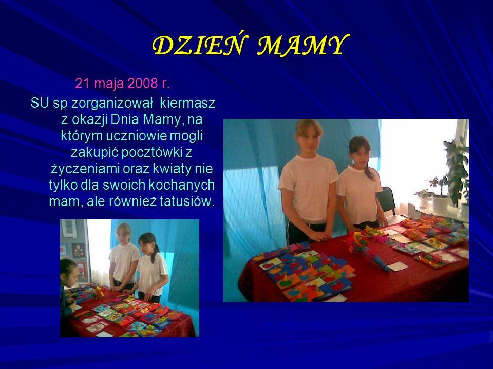 DZIEŃ MAMY 21 maja 2008 r.