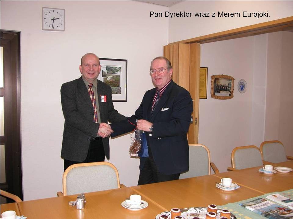 Pan Dyrektor wraz z Merem Eurajoki.
