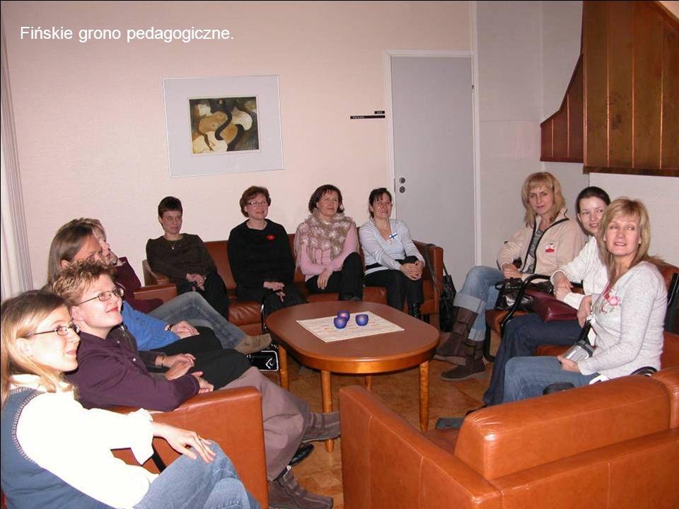 Fińskie grono pedagogiczne.