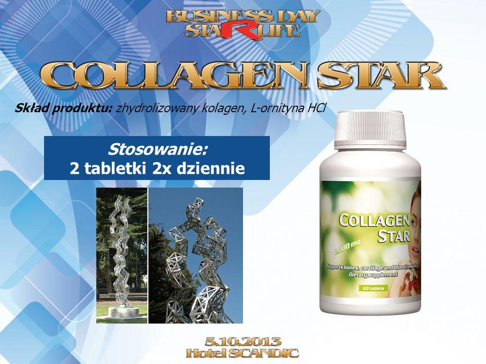 Stosowanie: 2 tabletki 2x dziennie