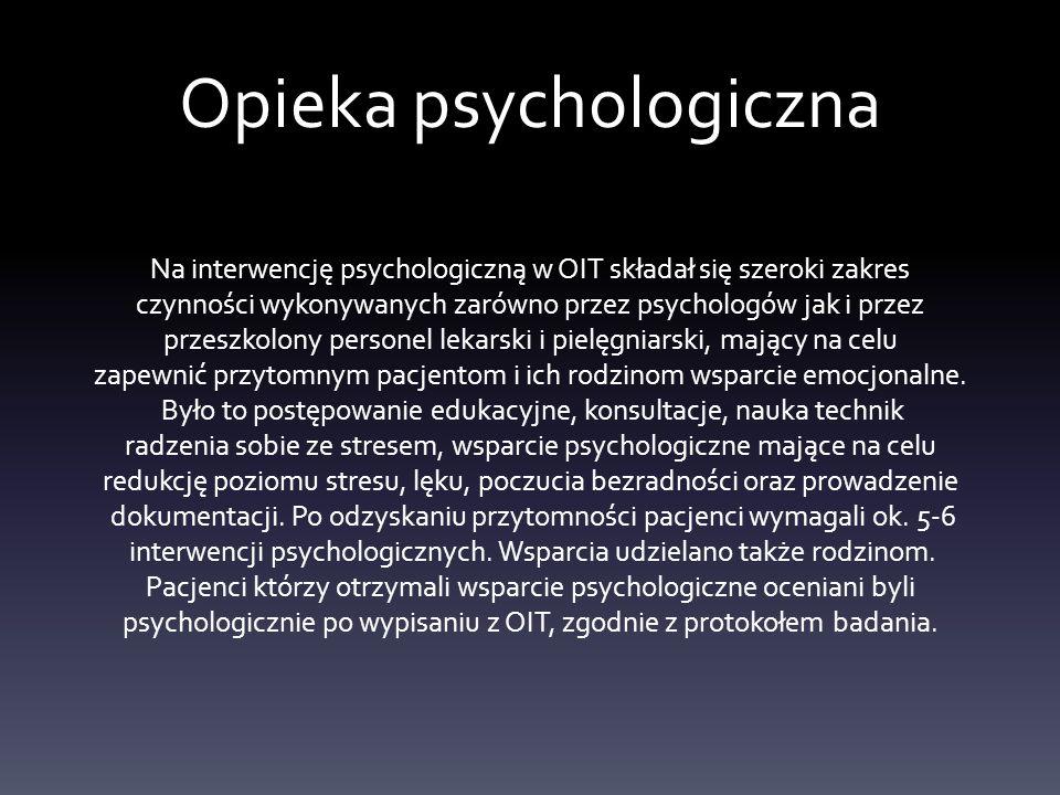 Opieka psychologiczna