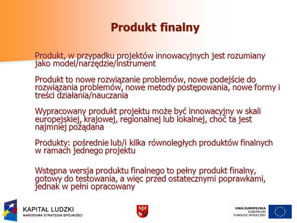 Produkt finalny