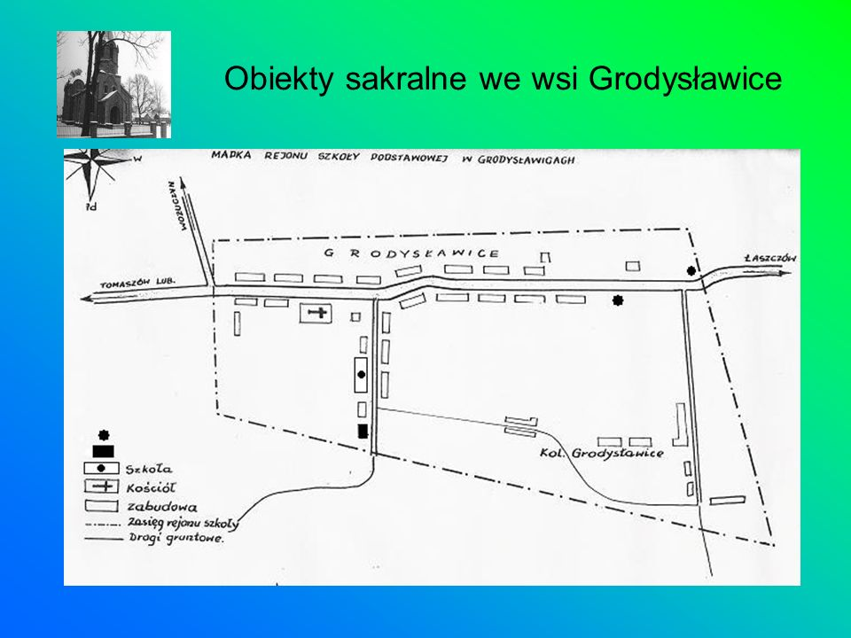 Obiekty sakralne we wsi Grodysławice