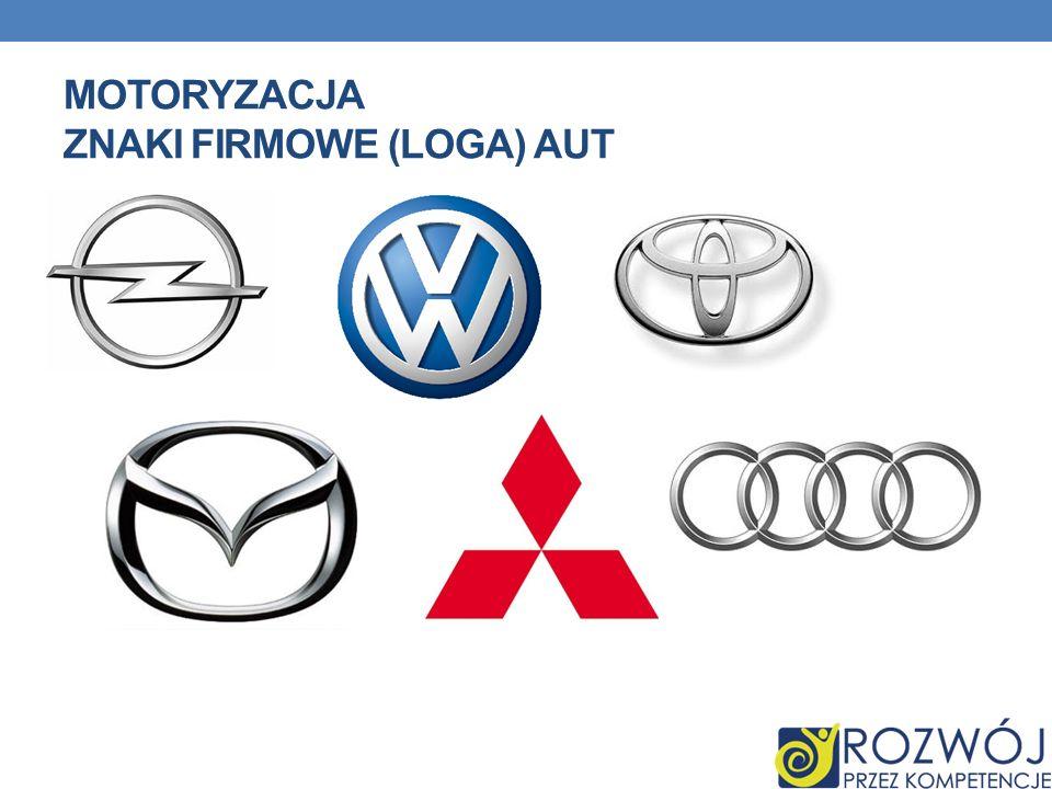Motoryzacja znaki firmowe (loga) aut