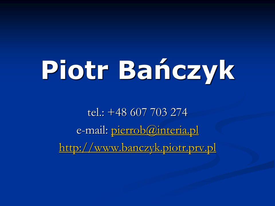 e-mail: pierrob@interia.pl