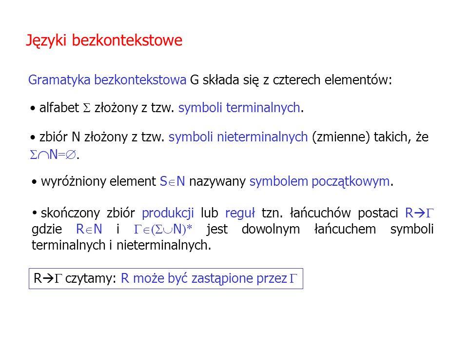 Języki bezkontekstowe