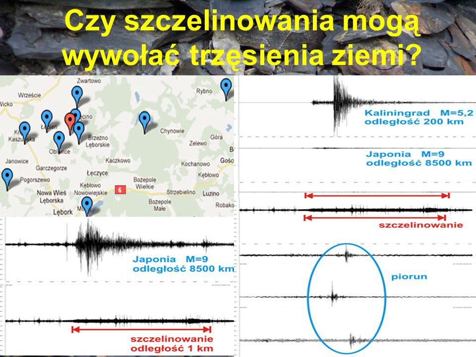 Czy szczelinowania mogą wywołać trzęsienia ziemi