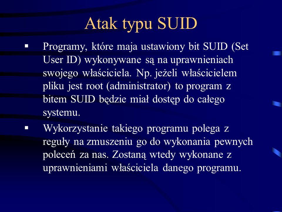 Atak typu SUID
