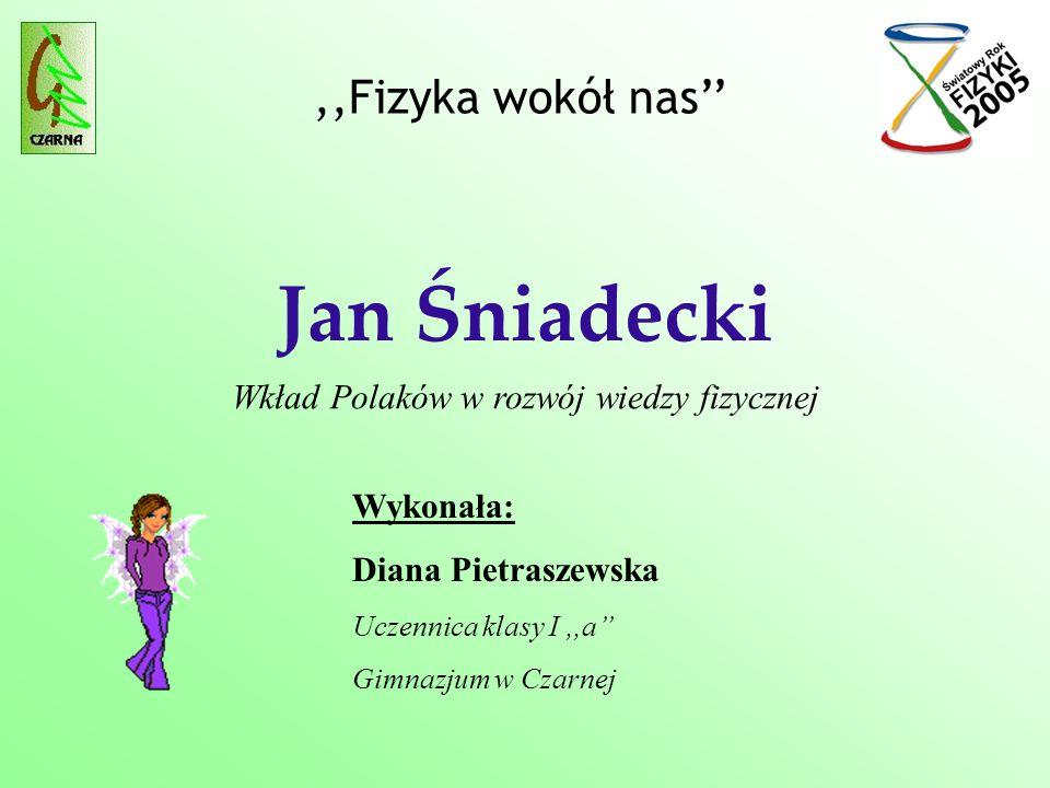 Wkład Polaków w rozwój wiedzy fizycznej