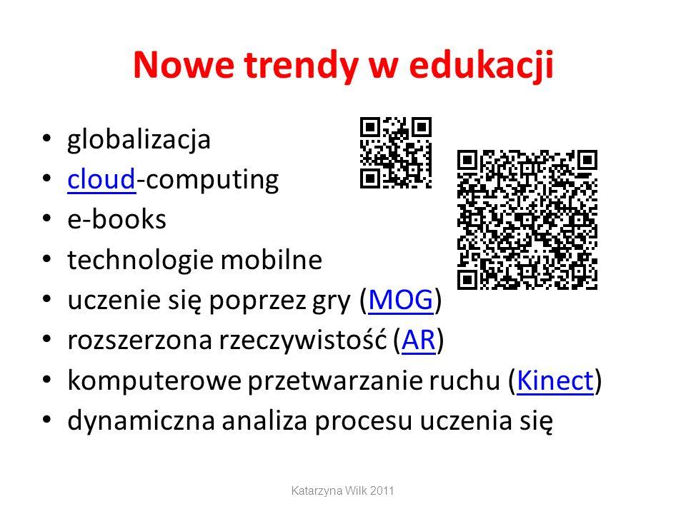 Nowe trendy w edukacji globalizacja cloud-computing e-books