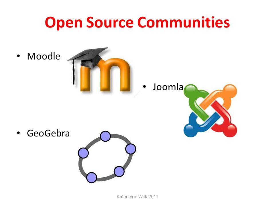 Open Source Communities