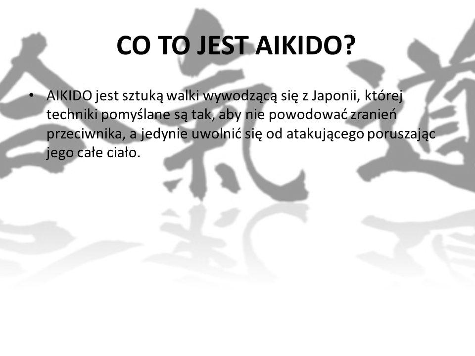 CO TO JEST AIKIDO