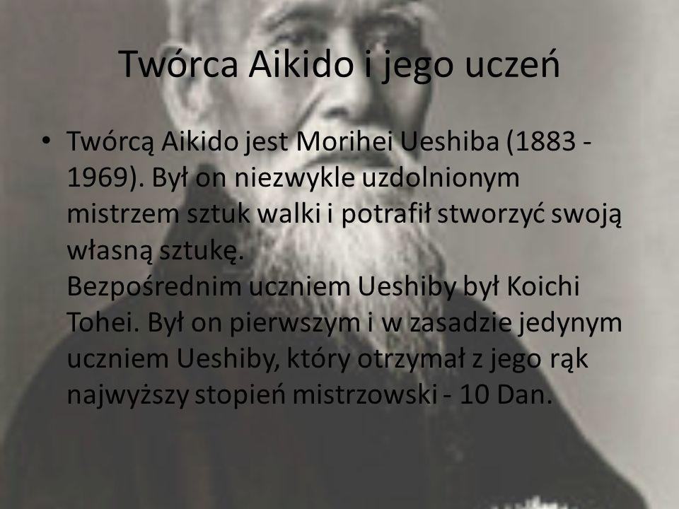 Twórca Aikido i jego uczeń