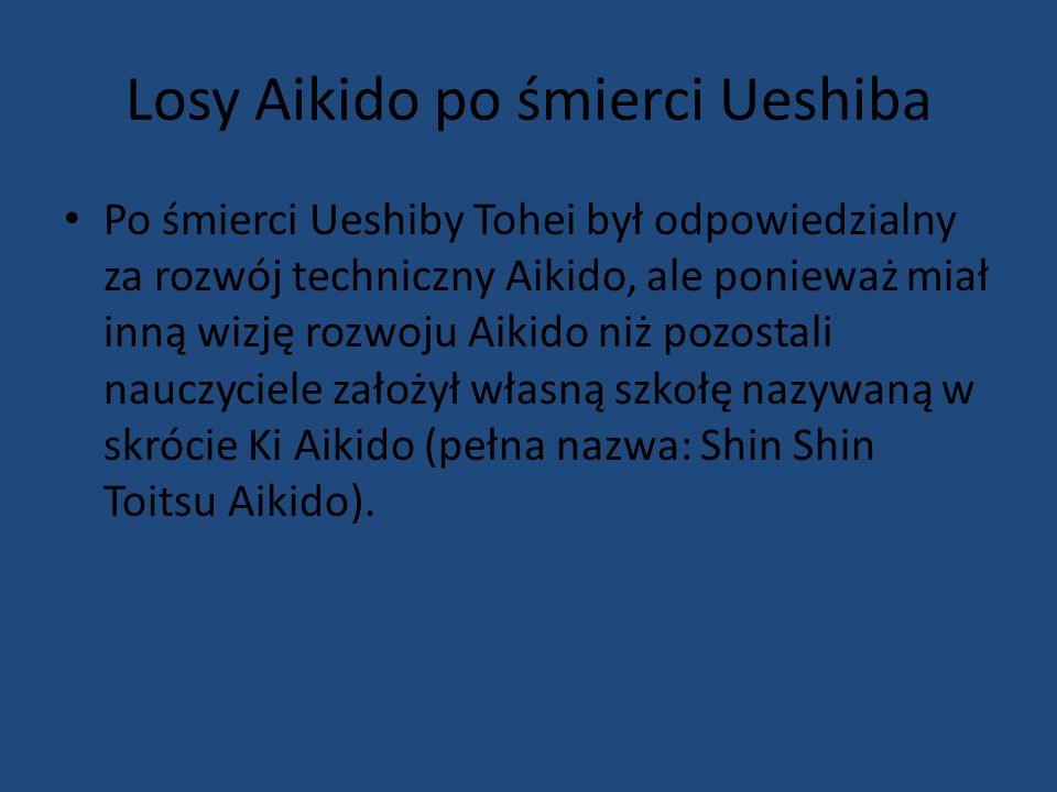 Losy Aikido po śmierci Ueshiba