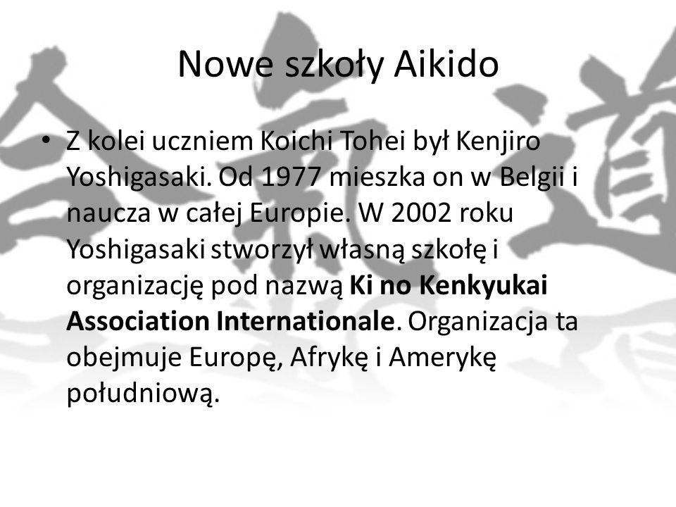 Nowe szkoły Aikido