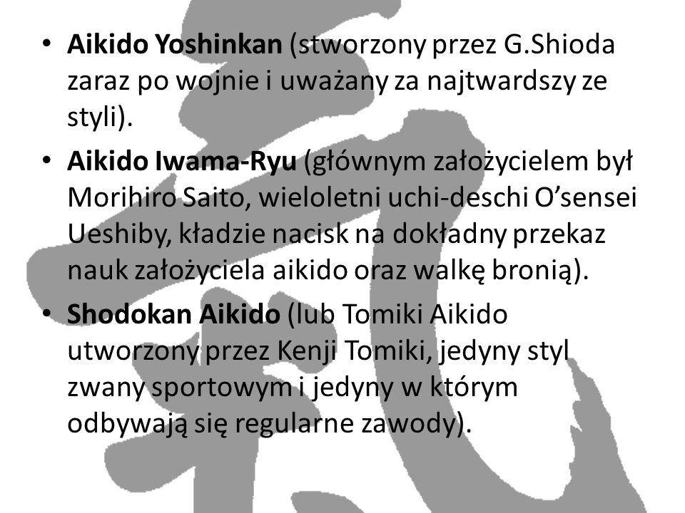 Aikido Yoshinkan (stworzony przez G