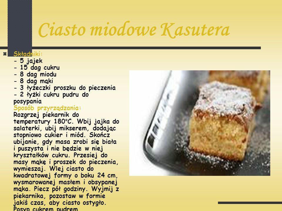 Ciasto miodowe Kasutera