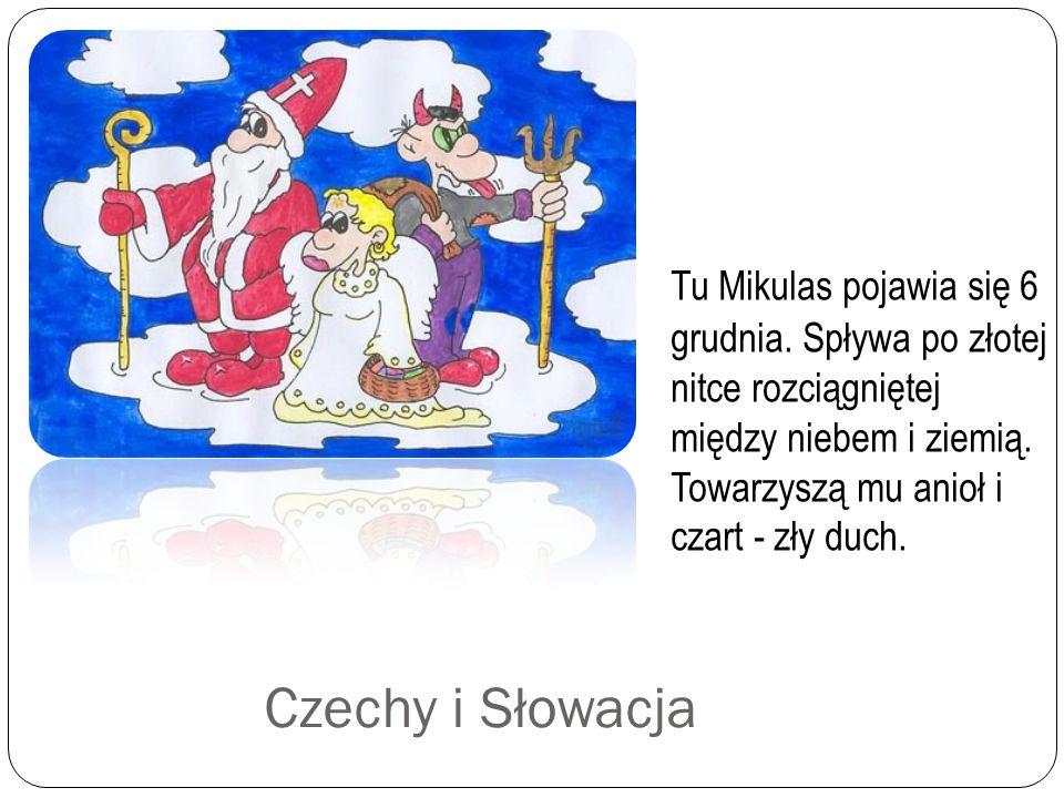 Tu Mikulas pojawia się 6 grudnia