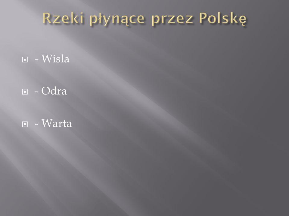 Rzeki płynące przez Polskę