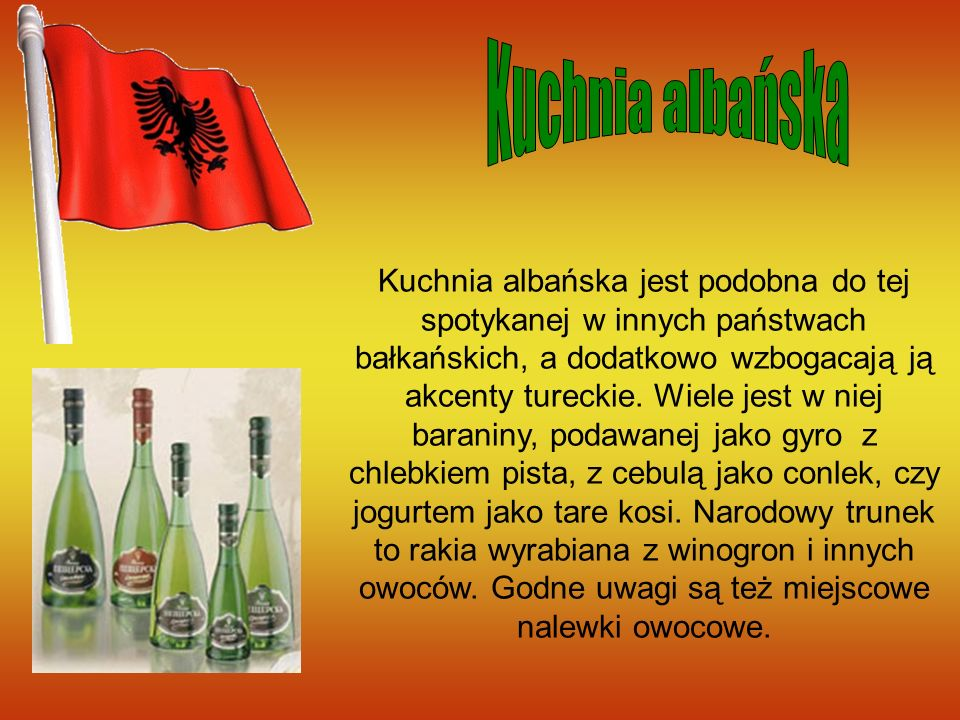 Kuchnia albańska