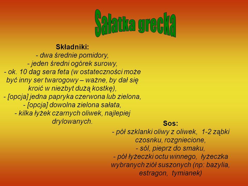 Sałatka grecka
