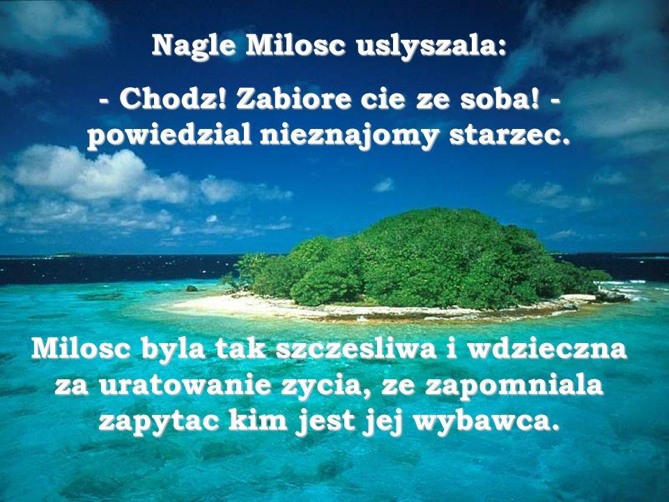 Nagle Milosc uslyszala:
