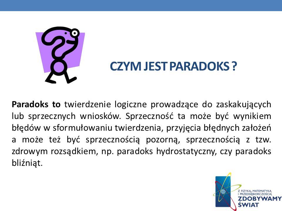 Czym jest paradoks