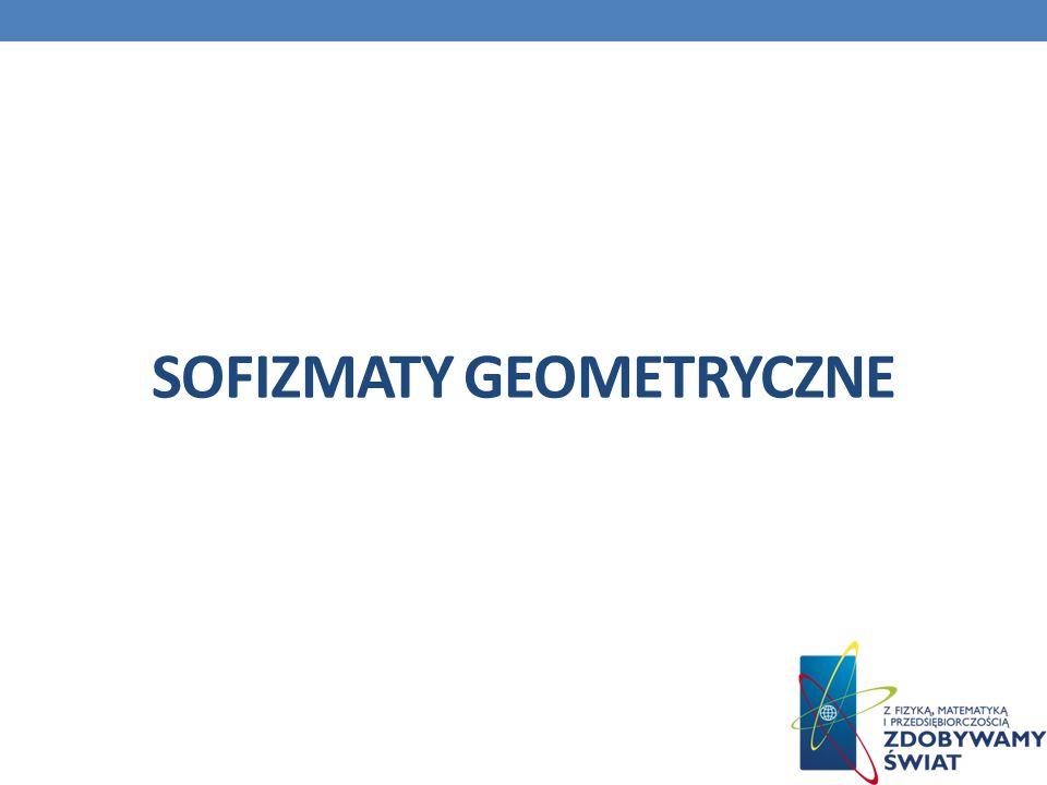Sofizmaty geometryczne