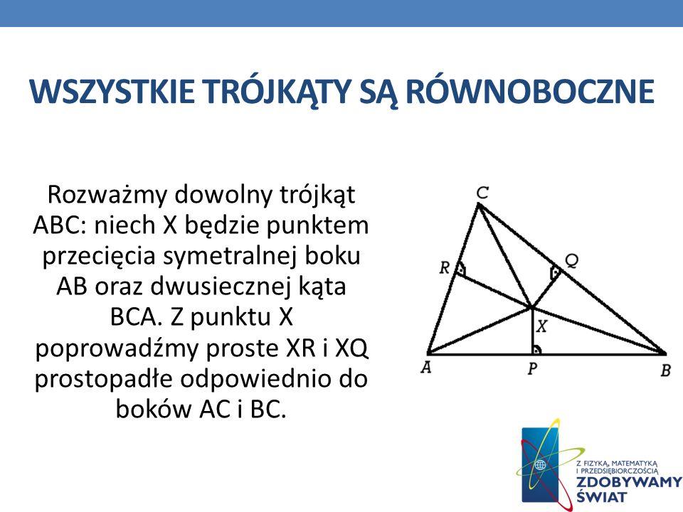 Wszystkie trójkąty są równoboczne