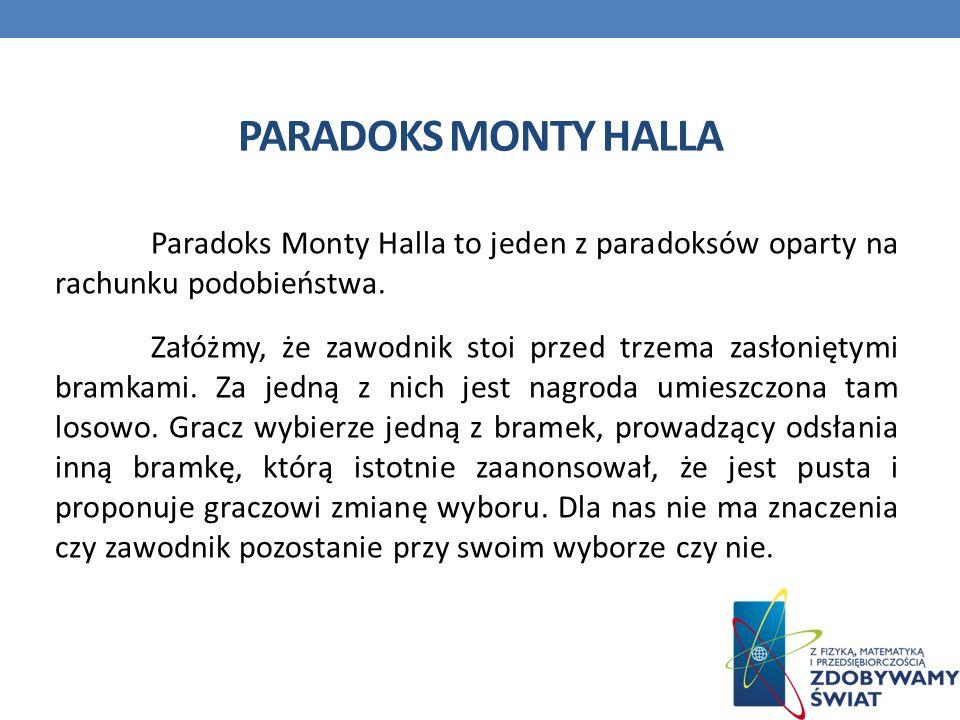Paradoks Monty Halla