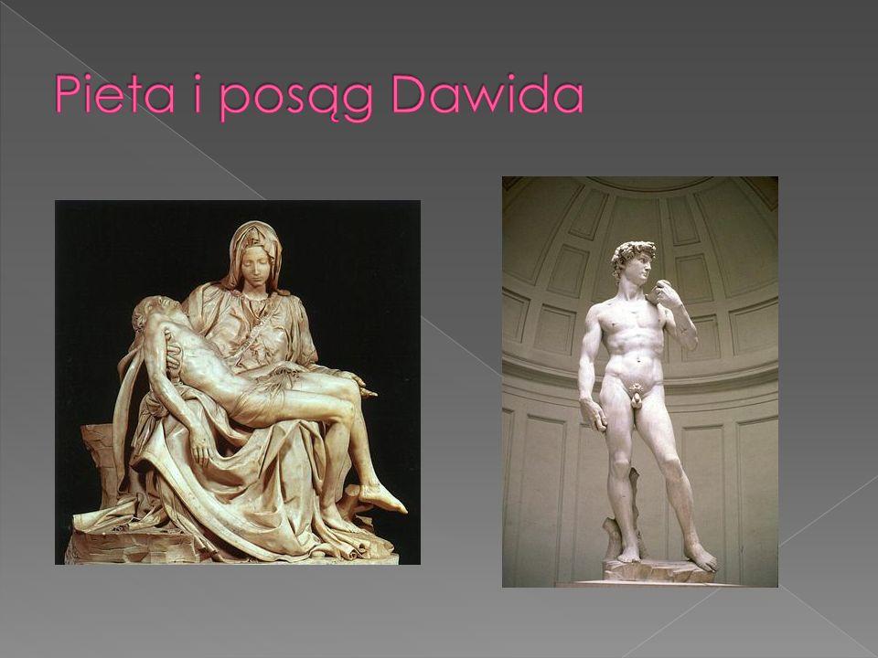 Pieta i posąg Dawida