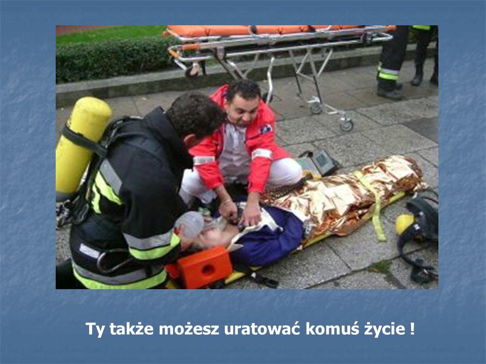 Ty także możesz uratować komuś życie !