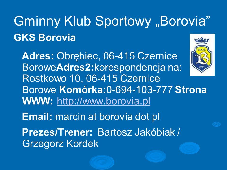 """Gminny Klub Sportowy """"Borovia"""