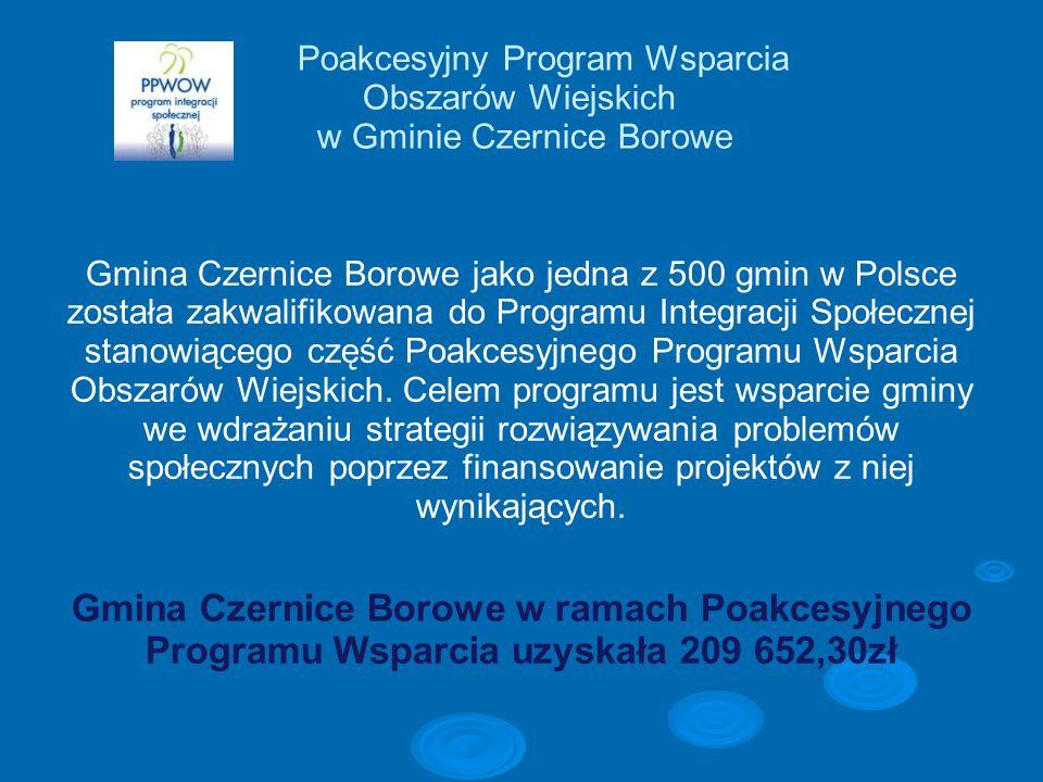 Poakcesyjny Program Wsparcia Obszarów Wiejskich w Gminie Czernice Borowe