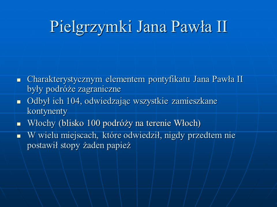 Pielgrzymki Jana Pawła II
