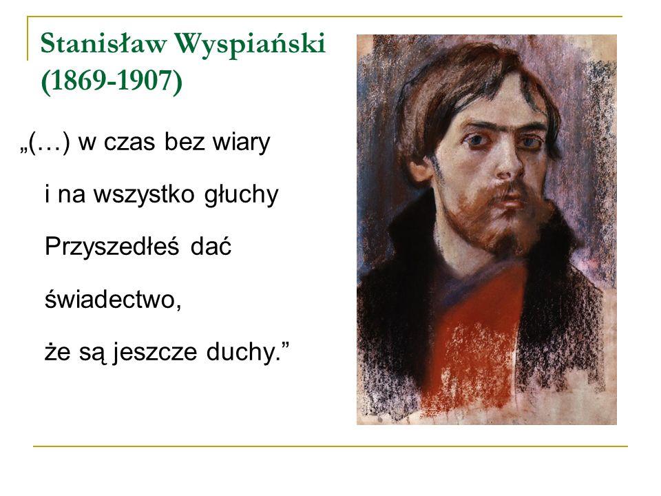 Stanisław Wyspiański (1869-1907)
