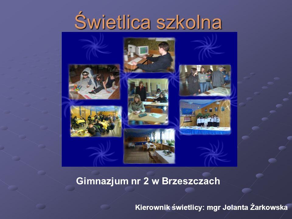 Świetlica szkolna Gimnazjum nr 2 w Brzeszczach