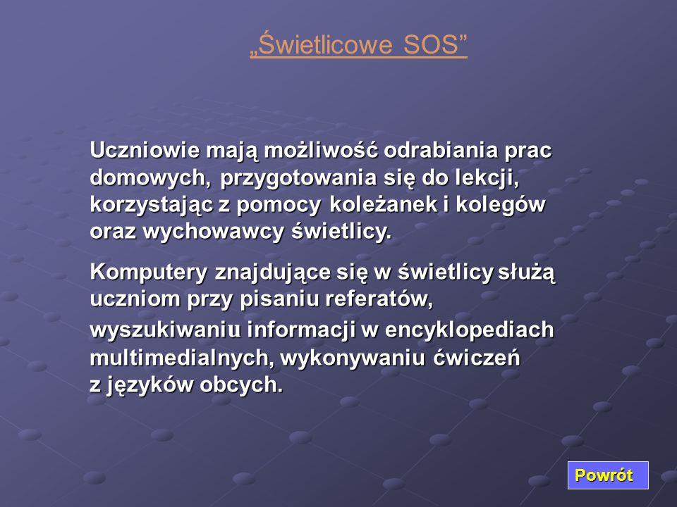 """""""Świetlicowe SOS"""