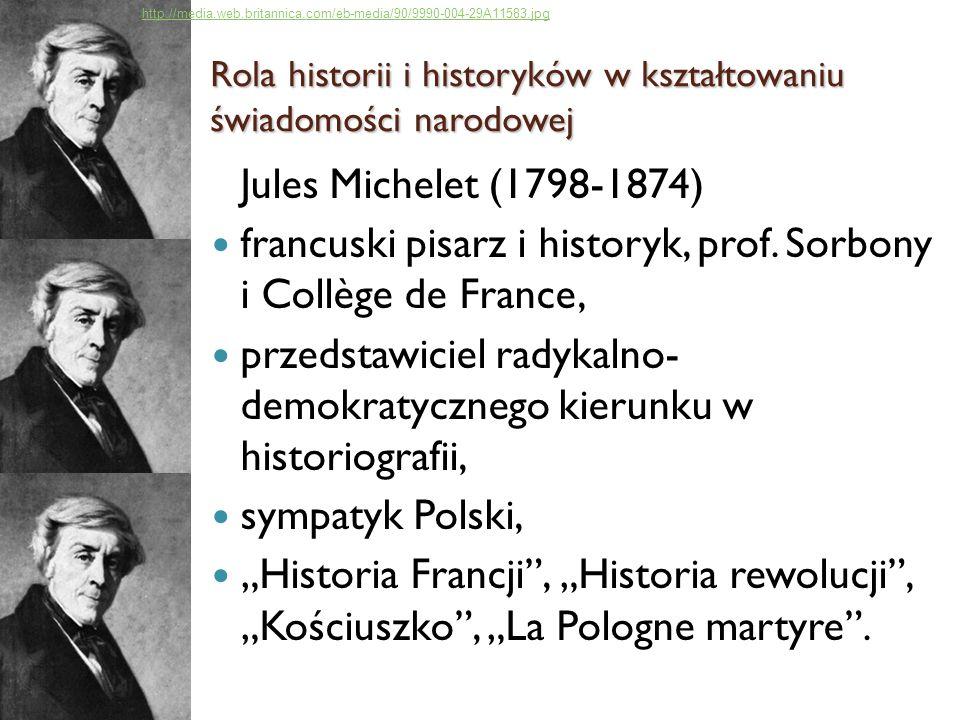 francuski pisarz i historyk, prof. Sorbony i Collège de France,