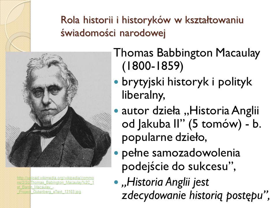 Thomas Babbington Macaulay (1800-1859)