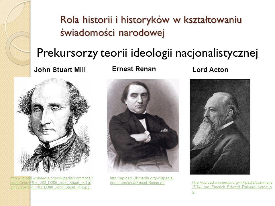 Prekursorzy teorii ideologii nacjonalistycznej