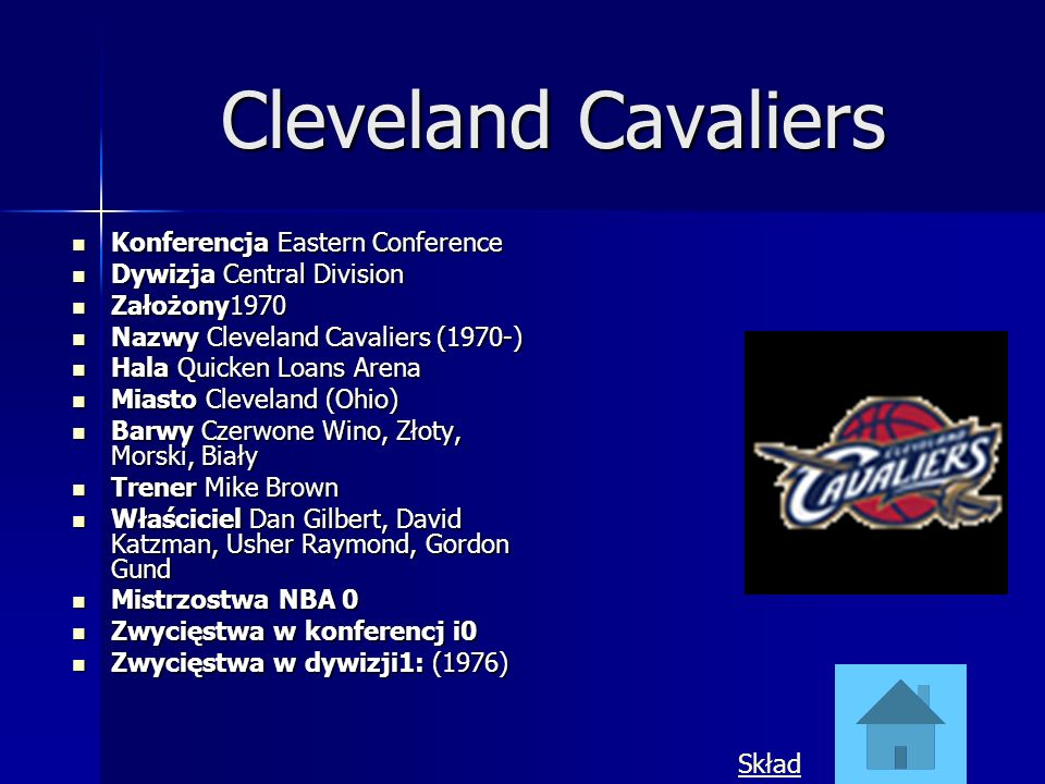 Cleveland Cavaliers Konferencja Eastern Conference