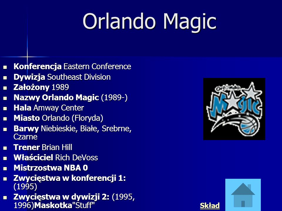 Orlando Magic Konferencja Eastern Conference