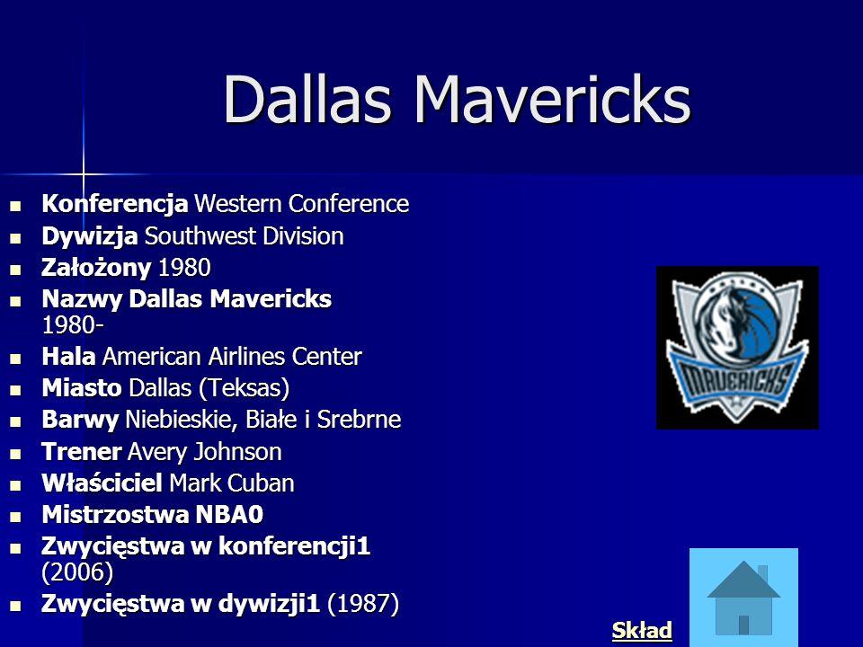 Dallas Mavericks Konferencja Western Conference