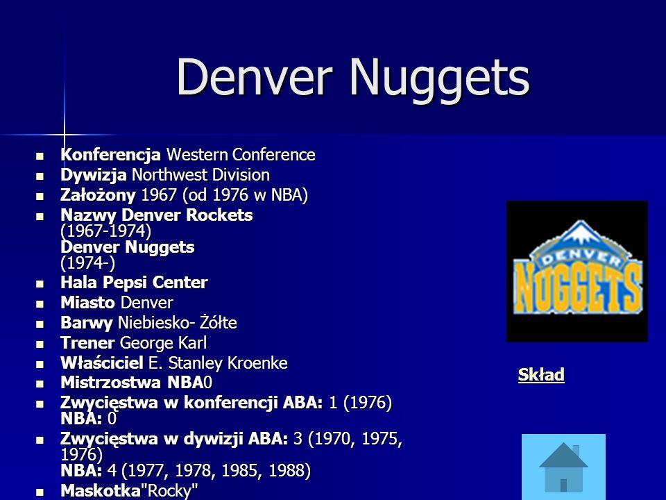 Denver Nuggets Konferencja Western Conference