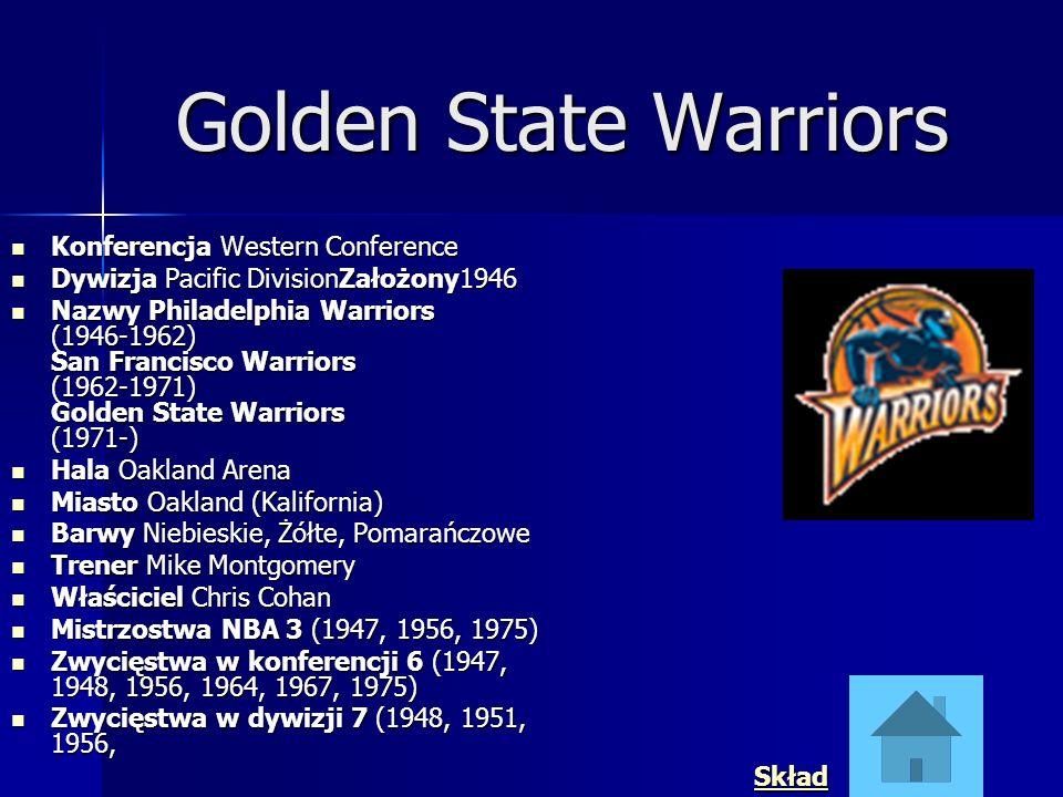 Golden State Warriors Konferencja Western Conference