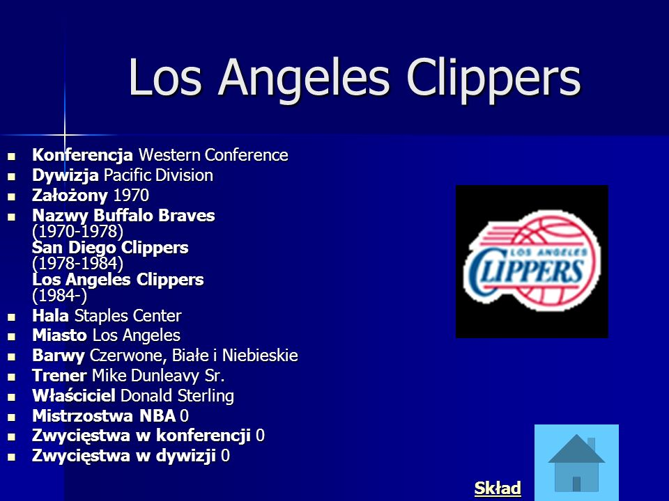 Los Angeles Clippers Konferencja Western Conference