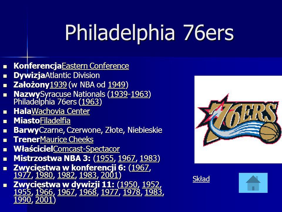 Philadelphia 76ers KonferencjaEastern Conference