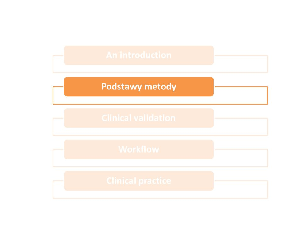An introduction Podstawy metody Clinical validation Workflow Clinical practice